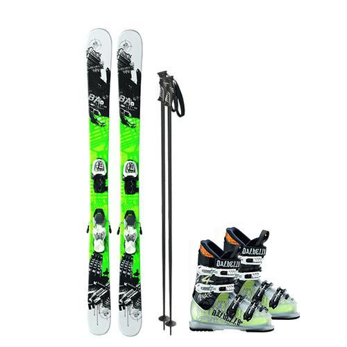 Children's Recreational/Performance Shape Ski Packages