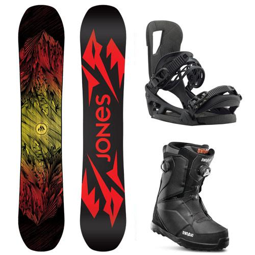 Adult Demo Snowboard Packages